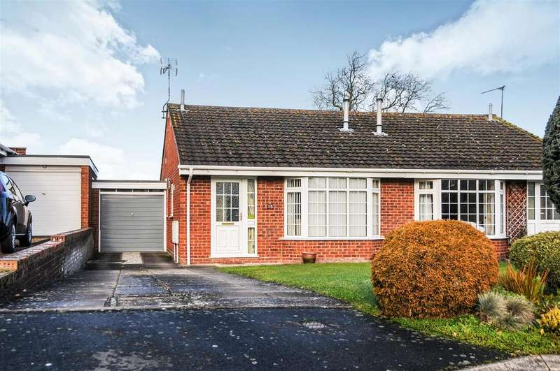 2 Bedrooms Semi Detached Bungalow for sale in Ryefields, Bishops Tachbrook, Leamington Spa