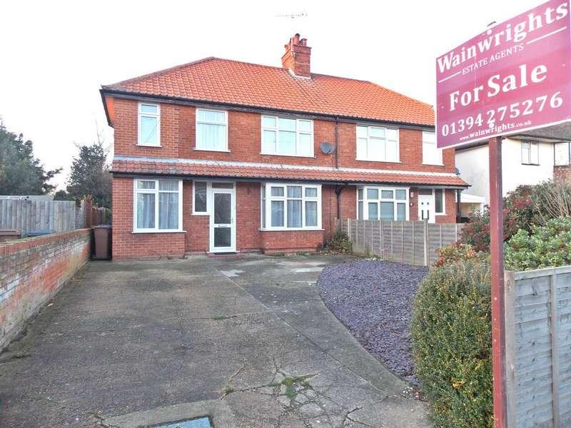 4 Bedrooms Semi Detached House for sale in Exeter Road, Felixstowe, IP11