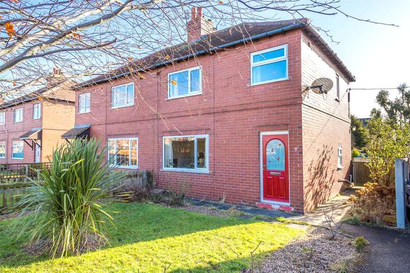 3 Bedrooms Semi Detached House for sale in Graysfield, Eggborough, Goole, North Yorkshire, DN14