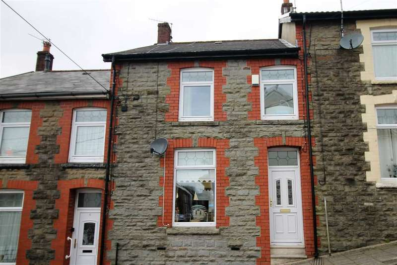 3 Bedrooms Terraced House for sale in Crosswood Street, Treorchy