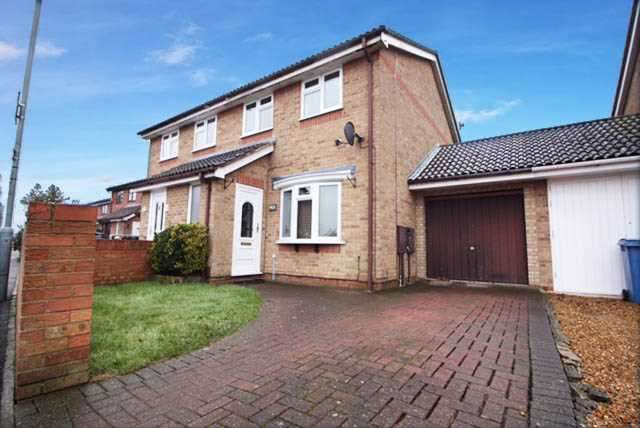 3 Bedrooms Semi Detached House for sale in Sprites Lane, Ipswich