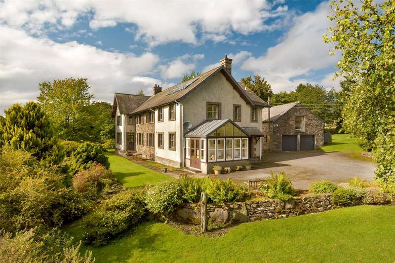 5 Bedrooms Detached House for sale in Tullielarach House, Tulliemet, Pitlochry, Perthshire, PH9