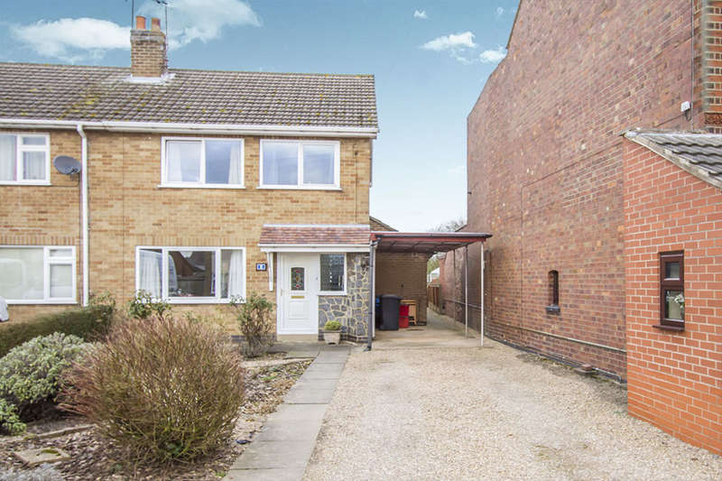 3 Bedrooms Semi Detached House for sale in Argyle Street, Ibstock, LE67