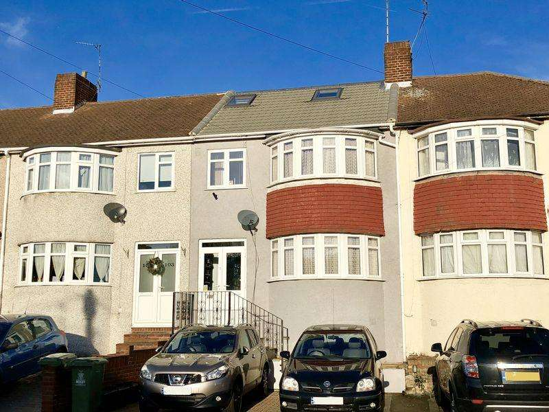 4 Bedrooms Terraced House for sale in Eversley Avenue, Bexleyheath
