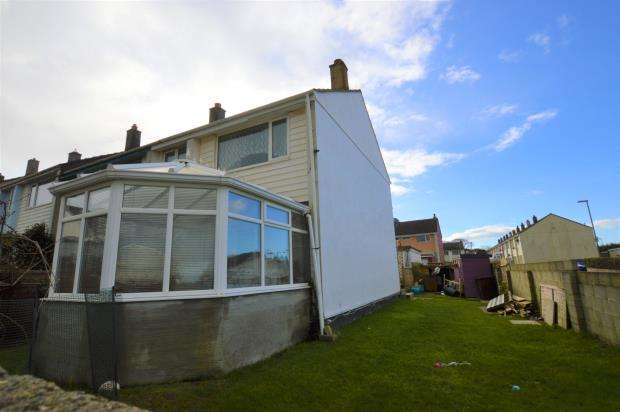 3 Bedrooms End Of Terrace House for sale in Rosemellin, Camborne, Cornwall