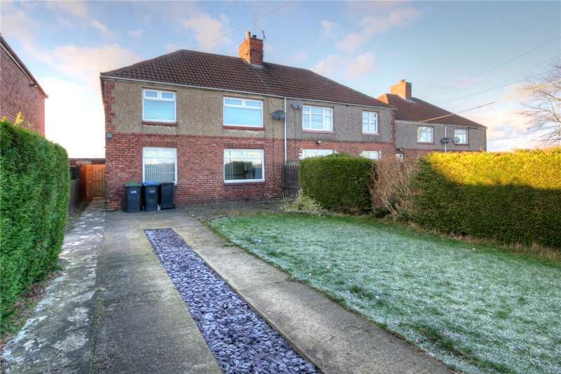 4 Bedrooms Semi Detached House for sale in Pine Road, East Howle, Ferryhill, DL17