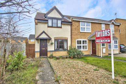2 Bedrooms End Of Terrace House for sale in Elter Water, Huntingdon, Cambridgeshire