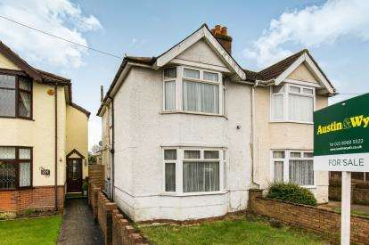 2 Bedrooms Semi Detached House for sale in Sholing, Southampton