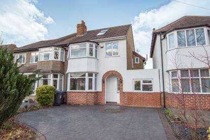4 Bedrooms Semi Detached House for sale in Baldwins Lane, Hall Green, Birmingham, West Midlands