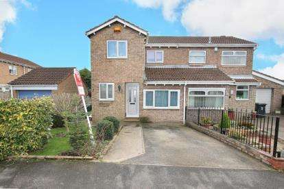3 Bedrooms Semi Detached House for sale in Frobisher Grove, Maltby, Rotherham, South Yorkshire