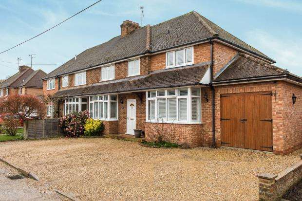 4 Bedrooms Semi Detached House for sale in Guildford, Surrey