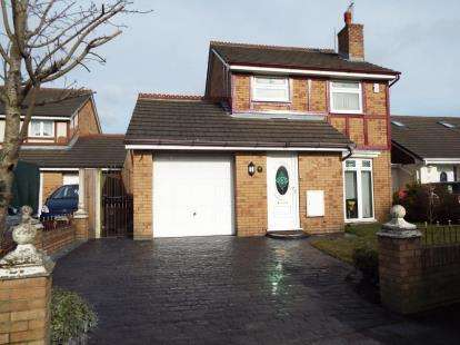 3 Bedrooms Detached House for sale in Moorfoot Way, Kirkby, Liverpool, Merseyside, L33