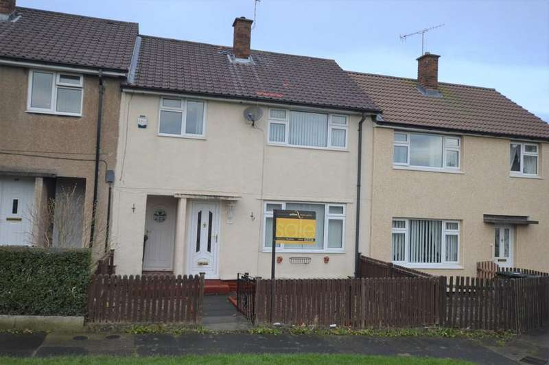 3 Bedrooms Terraced House for sale in Parkwood Ave, Prudhoe