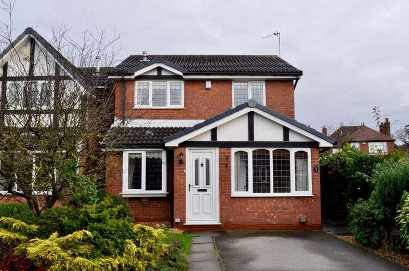 3 Bedrooms Detached House for sale in Tudor Close, Rudheath, Northwich, CW9
