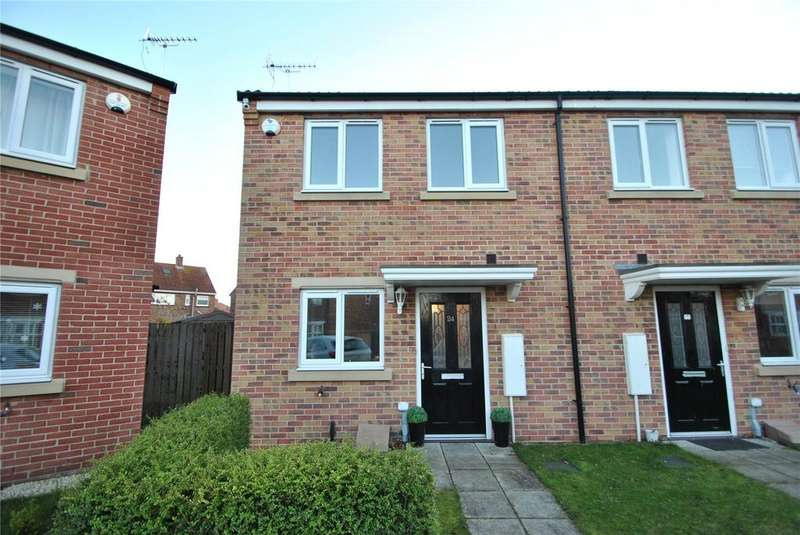 2 Bedrooms Semi Detached House for sale in Sidings Place, Fence Houses, Houghton le Spring, DH4