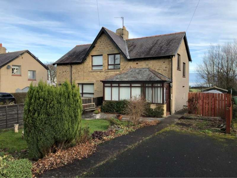 3 Bedrooms Semi Detached House for rent in Sea View, Longhoughton, Northumberland, NE66