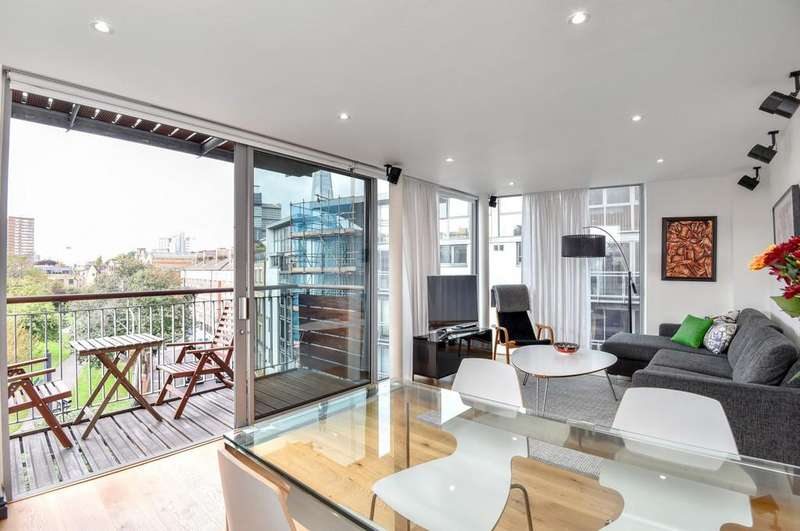 2 Bedrooms Apartment Flat for sale in Tanner Street, SE1