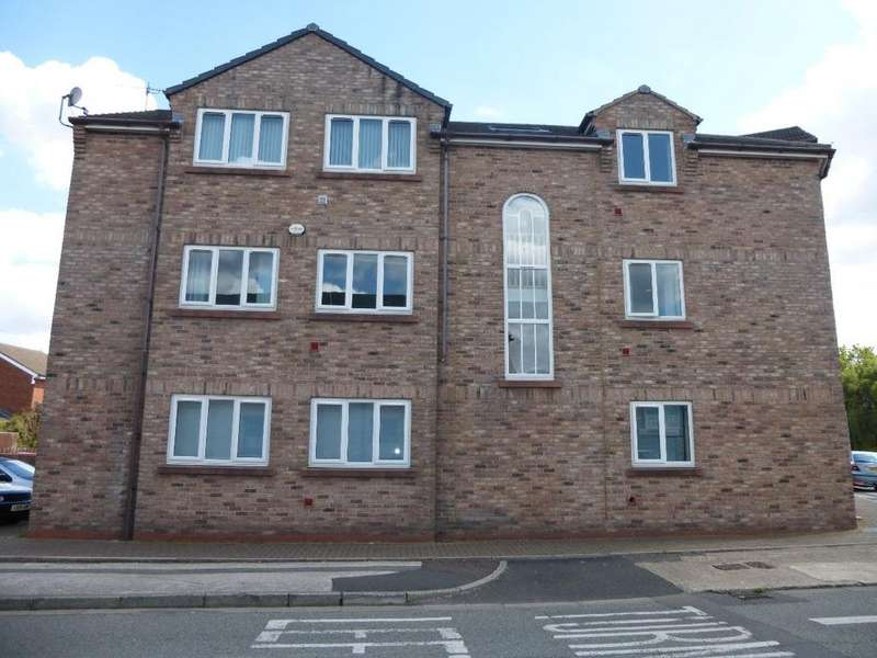 2 Bedrooms Apartment Flat for sale in Sutton Court, Cecil Road, St Helens, WA9
