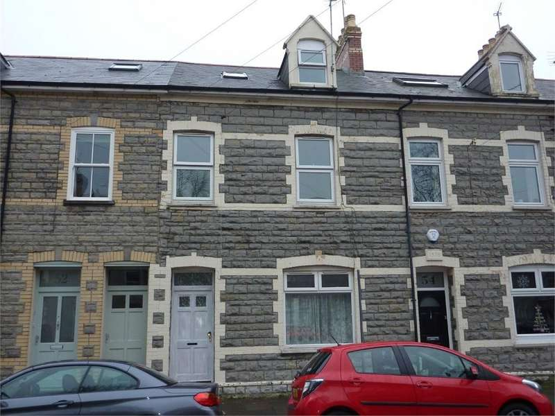 4 Bedrooms Terraced House for rent in Arcot Street, Penarth