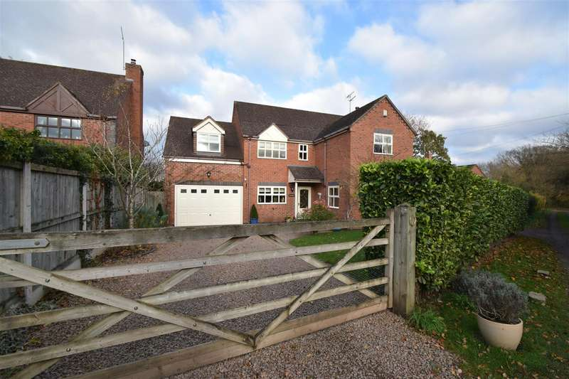 4 Bedrooms Detached House for sale in Broadheath Common, Lower Broadheath, Worcester