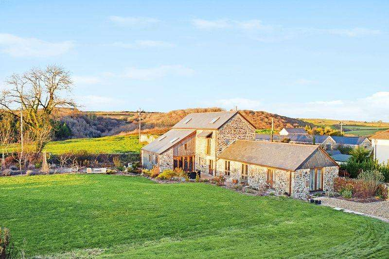 4 Bedrooms Detached House for sale in St Mellion, Cornwall
