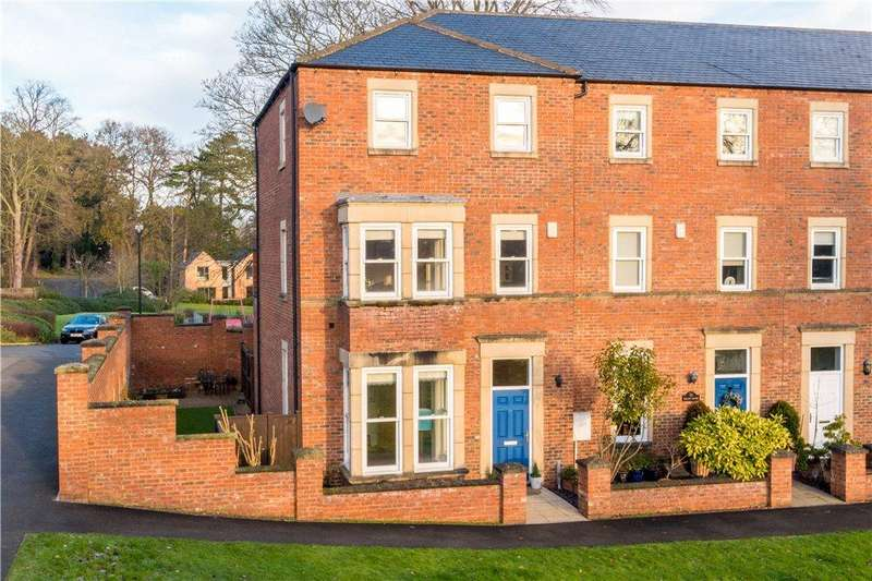 4 Bedrooms End Of Terrace House for sale in The Old College, Wilkinson Court, Ripon, North Yorkshire