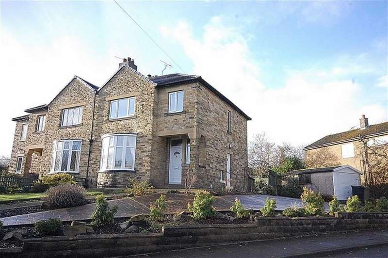 3 Bedrooms Semi Detached House for sale in Templar Drive, Almondbury, Huddersfield, HD5