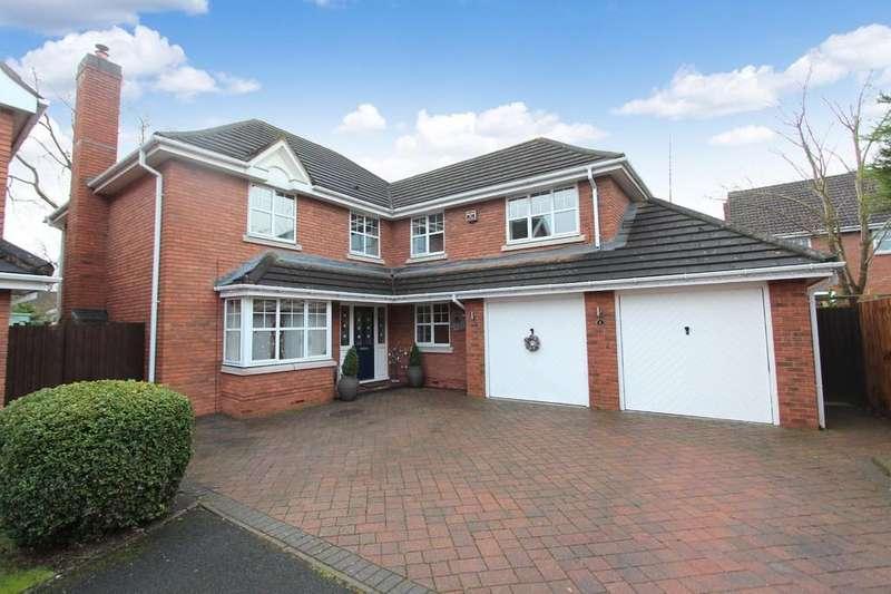 5 Bedrooms Detached House for sale in Dunham Croft, Dorridge