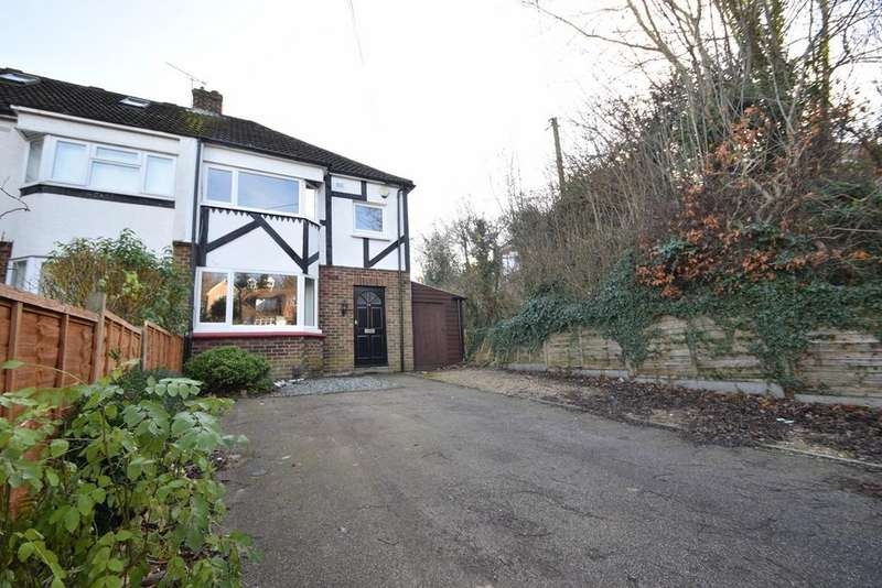 3 Bedrooms Semi Detached House for sale in Robin Hood Lane, Chatham, ME5