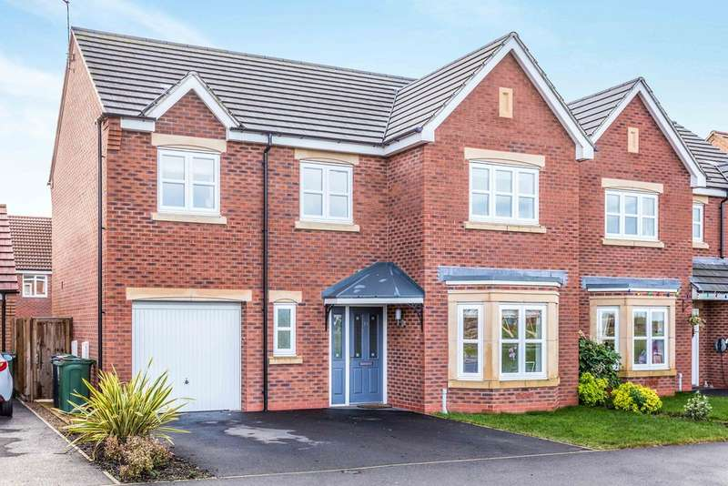 4 Bedrooms Detached House for sale in Sunnylands Drive, Sileby, Loughborough LE12