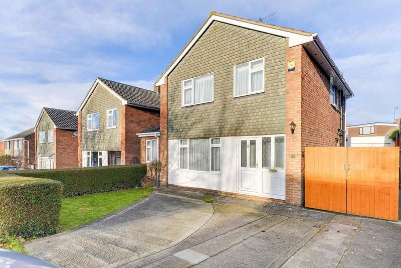 3 Bedrooms Detached House for sale in Lincoln Way, Harlington, LU5