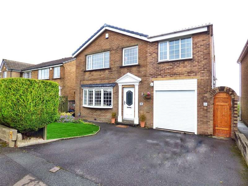 4 Bedrooms Detached House for sale in Marcus Way, Mount, Huddersfield, West Yorkshire, HD3