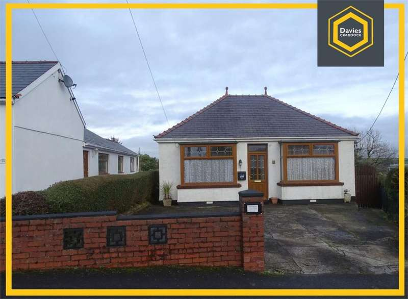 2 Bedrooms Detached Bungalow for sale in Heol Hen, Five Roads, Llanelli, SA15