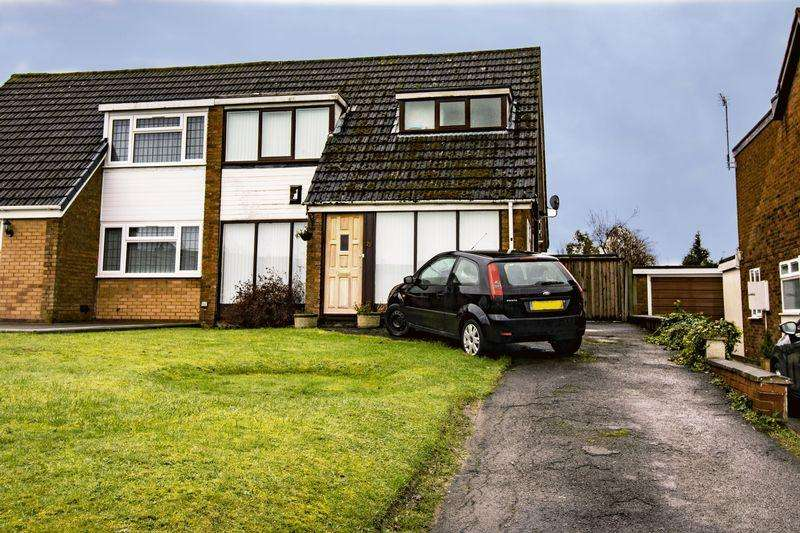 3 Bedrooms Semi Detached House for sale in Daffodil Road, Walsall