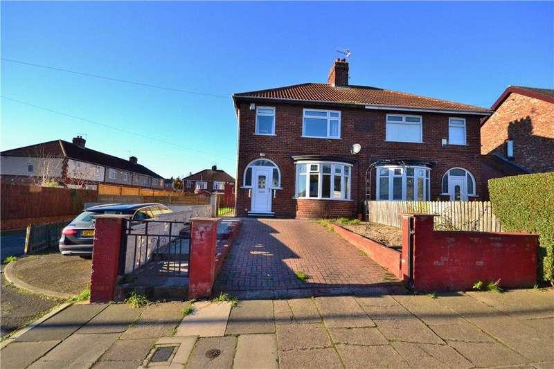 3 Bedrooms Semi Detached House for sale in Birkley Road, Norton, Stockton-On-Tees