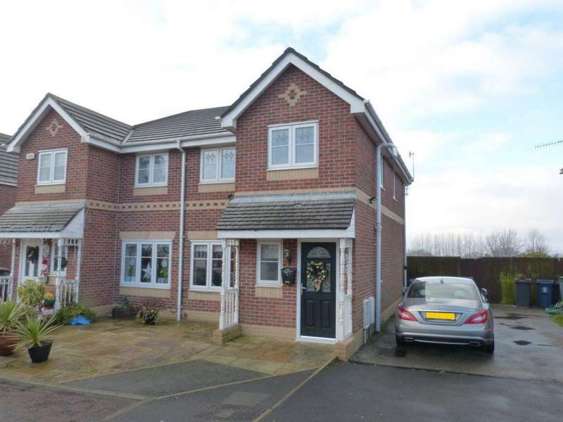 3 Bedrooms Semi Detached House for sale in Hobberley Drive, Skelmersdale, WN8