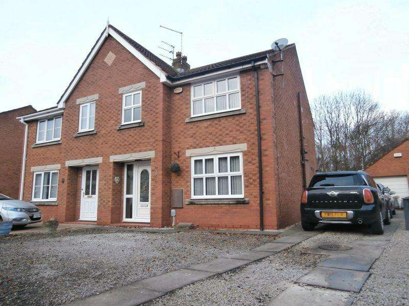 4 Bedrooms Semi Detached House for sale in Lindengate Avenue, Hull