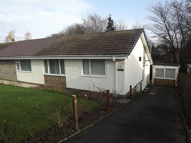 2 Bedrooms Semi Detached Bungalow for sale in Cae Mair, Beaumaris, Anglesey