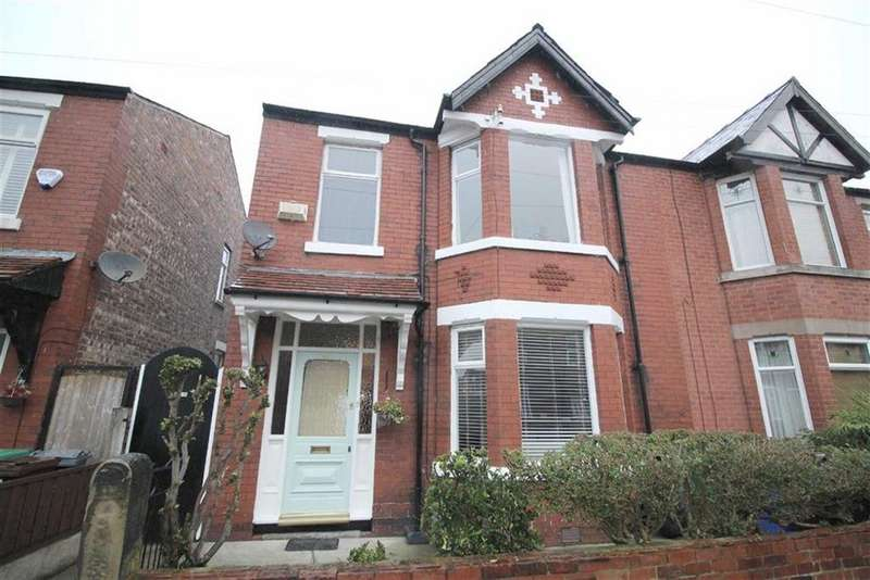 4 Bedrooms Semi Detached House for sale in Newport Road, Chorlton