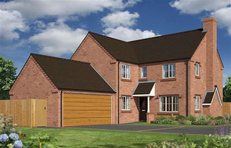 4 Bedrooms Detached House for sale in Plot 17, The Blakemere, Berrington Meadows, Cross Houses, SY5