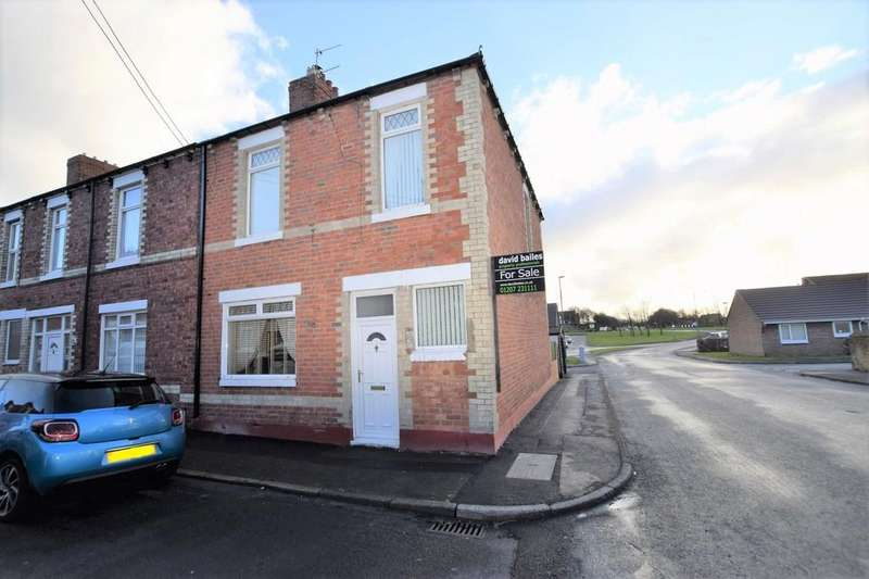 3 Bedrooms End Of Terrace House for sale in Church Street, Stanley, Co. Durham