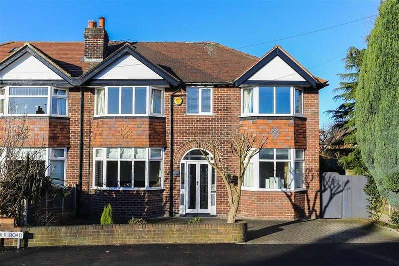 5 Bedrooms Semi Detached House for sale in Napier Road, Heaton Moor