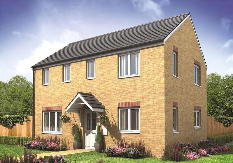 3 Bedrooms Semi Detached House for sale in Plot 333 Millers Field, Manor Park, Sprowston, Norfolk, NR7