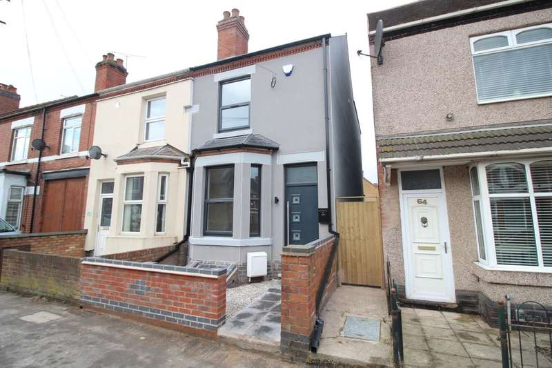 3 Bedrooms Terraced House for sale in Park Road, Bedworth, CV12