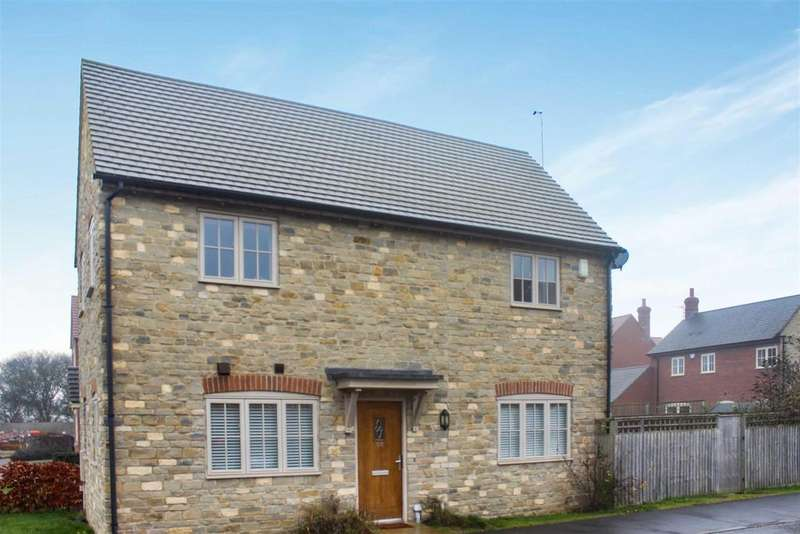2 Bedrooms Link Detached House for sale in Hereburgh Way, Harbury, Leamington Spa