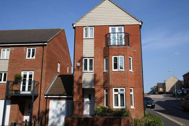 3 Bedrooms Town House for sale in Wellstead Way, Hedge End SO30