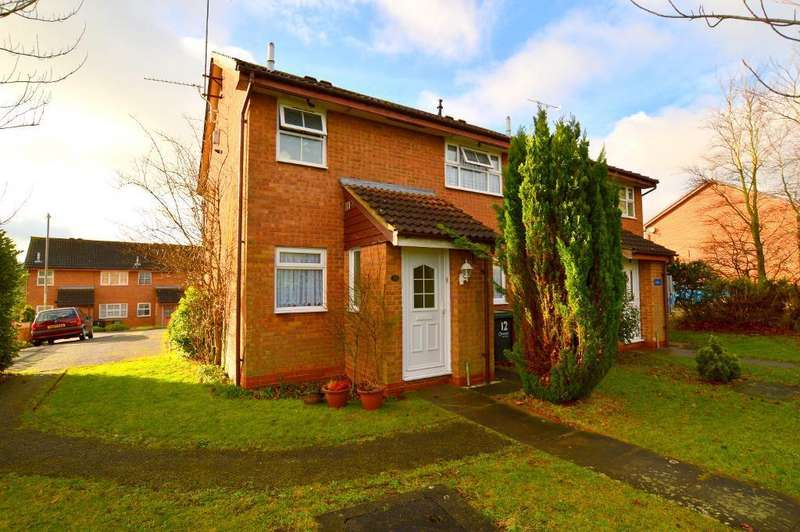 1 Bedroom Maisonette Flat for sale in Campania Grove, Luton, LU3 4DD