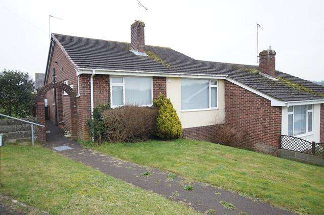 3 Bedrooms Semi Detached Bungalow for sale in Philip Road, Blandford Forum