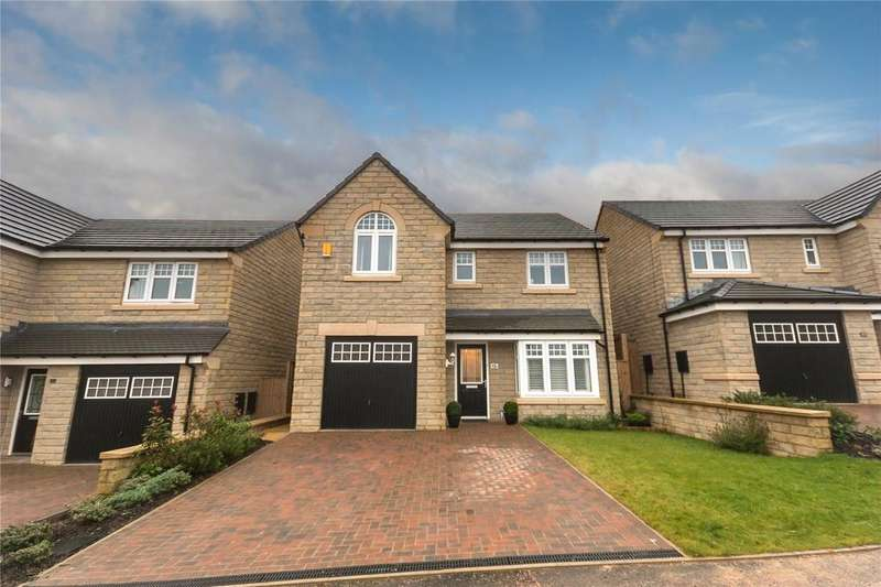 4 Bedrooms Detached House for sale in Farriers Way, Lindley, Huddersfield, HD3