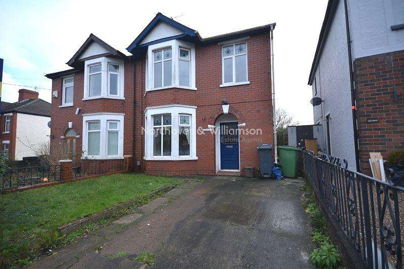 4 Bedrooms Semi Detached House for sale in Wentloog Road, Rumney, Cardiff. CF3
